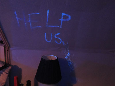 Picture of Help Us message from The Reichenbach Fall